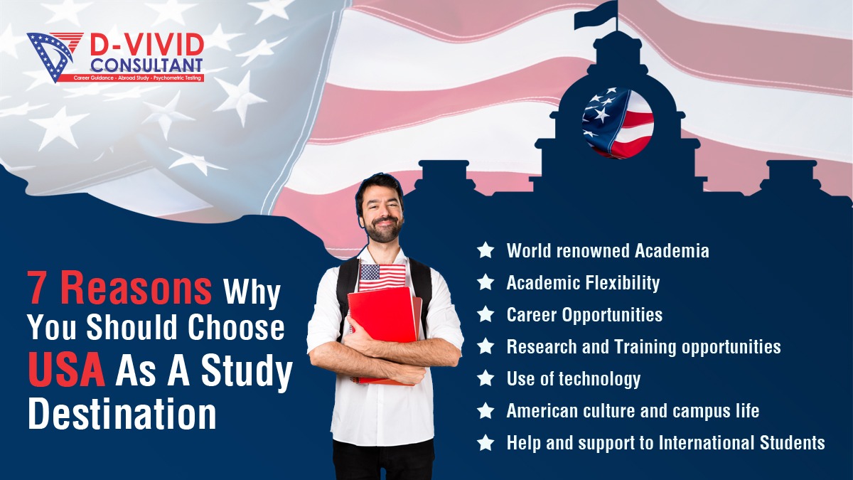 Top Seven Reasons to Study in the USA